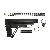 Slim Stock with Mil Spec 6-position Buffer Tube Kit