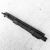 "10.5"" 300 BLK Ar15 Upper, Slanted Hybrid Keymod & Flash Can"