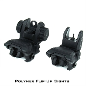 Polymer Flip Up / Back-Up Sights