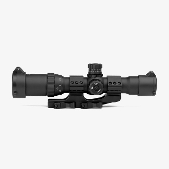 TF 1-4x28 IR Ar15 Scope with Cantilever QD Mount