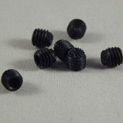 Replacement knurled Ar15 Gas Block Set Screws - Set of 2