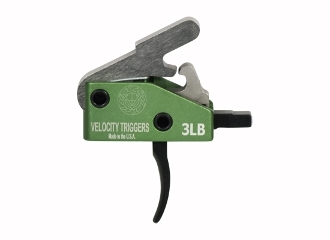 3lb Velocity Ar15 Drop in Trigger - 3lb Curved