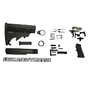 *sale* Ar15 Lower Build Kit - Mil Spec 6 Position Stock & LPK