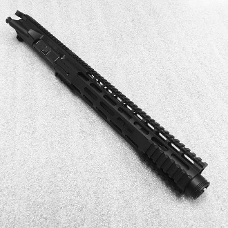 "10.5"" 5.56/223 Ar15 Pistol Upper with 12"" Gen3 Rail & Flash Can"