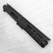 "9mm 5"" Ar15 Pistol Upper with C7 Keymod and Flash Can"