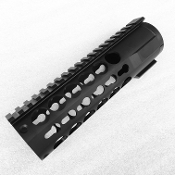 "7"" Fat Keymod Round Free Float Handguard"
