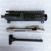 Combo sale! blem Assembled Ar15 Upper, Nickel BCG, & Handle