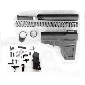 Ar15 Shockwave Lower Build parts kit - Blade, Pistol Tube , LPK