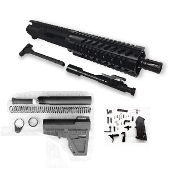 "*Pistol Build Kit* 7.5"" Shockwave 300 Blackout Ar15 w/ 7"" Rail"