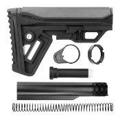 Ar15 Cobra Adjustable 6pos Mil Spec stock kit - Black