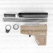 Shockwave Blade Pistol Stabilizer With Buffer Kit, FDE