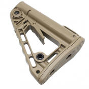 Rogers Super-Stoc - Mil Spec Adjustable Rifle Stock - FDE